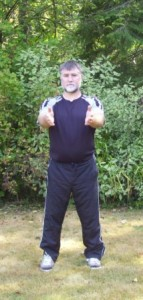 Raising arms in Qigong